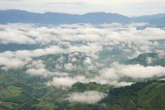 Vista aerea in Costa Rica Immagini Stock