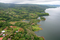 Vista aerea in Costa Rica (5) Fotografie Stock