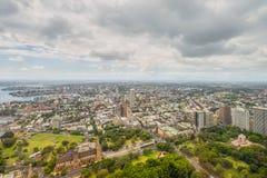 Vista aerea da Sydney Tower Sydney - in Australia Fotografia Stock Libera da Diritti