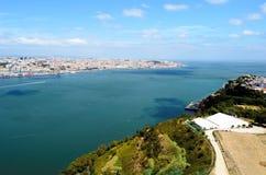 Vista aerea dalla statua di Christo Rei Fotografia Stock