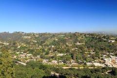 Vista aerea del aera del westwood fotografie stock