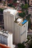 Vista aerea del aparment Fotografie Stock Libere da Diritti