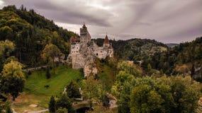 Vista aerea del castello della crusca fotografia stock