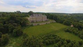Vista aerea del castello nella regione di Leopoli, Ucraina di Pidhorodetsky archivi video