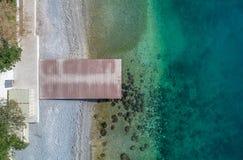 Vista aerea del fuco del pilastro Immagini Stock