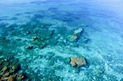 Vista aerea del litorale di mare Fotografia Stock