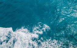 vista aerea del mare caraibico immagine stock