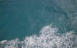 vista aerea del mare caraibico fotografia stock libera da diritti