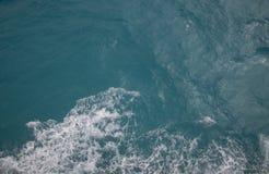 vista aerea del mare caraibico fotografie stock