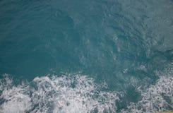 vista aerea del mare caraibico immagini stock