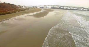 Vista aerea del mare 4k archivi video