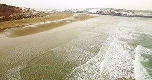 Vista aerea del mare 4k stock footage