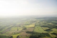 Vista aerea del paesaggio di Buckinghamshire Immagine Stock Libera da Diritti
