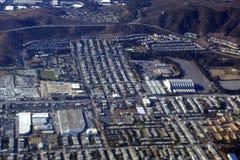 Vista aerea del palazzo della mucca del punto di riferimento Immagini Stock Libere da Diritti