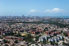 Vista aerea del Pernambuco - Brasile Fotografia Stock Libera da Diritti