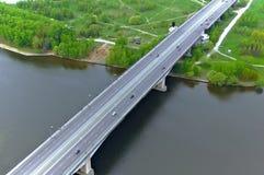 Vista aerea del ponticello Immagine Stock Libera da Diritti