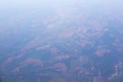 Vista aerea del ` s del campo di agricoltura Immagine Stock Libera da Diritti