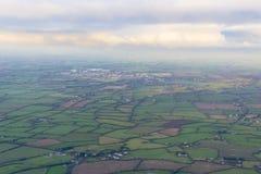 Vista aerea del ` s del campo di agricoltura Fotografia Stock Libera da Diritti