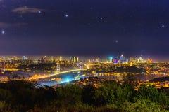 Vista aerea del tacchino di Costantinopoli Fotografia Stock