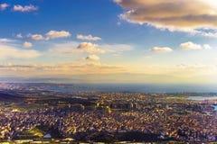 Vista aerea del tacchino di Costantinopoli Fotografia Stock Libera da Diritti
