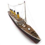 Vista aerea del titanico Fotografia Stock Libera da Diritti