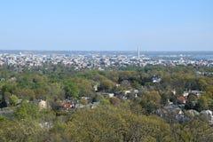 Vista aerea del Washington DC fotografie stock libere da diritti