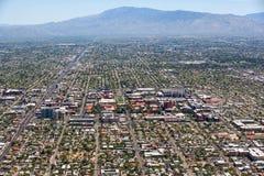 Vista aerea dell'università dell'Arizona Fotografie Stock Libere da Diritti
