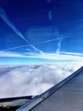 Vista aerea dell'Utah innevato Immagine Stock