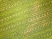 Vista aerea della campagna di Essex Fotografie Stock