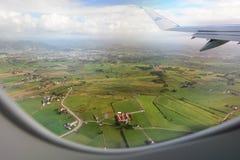 Vista aerea della campagna di Rogaland norway immagine stock libera da diritti