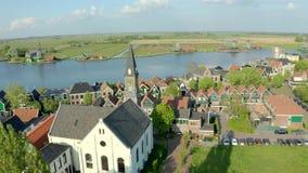 Vista aerea della chiesa