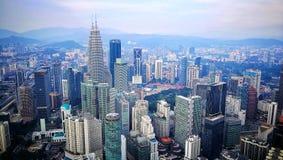 Vista aerea della città Immagine Stock Libera da Diritti