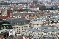Vista aerea della città della città di Vienna Fotografia Stock Libera da Diritti