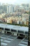 Vista aerea della città di Shenzhen fotografia stock