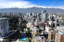 Vista aerea della città HDR Fotografia Stock Libera da Diritti