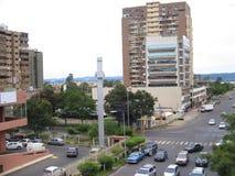 Vista aerea della corsa di Guri, Puerto Ordaz, Venezuela Fotografie Stock