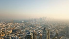 Vista aerea della Doubai video d archivio