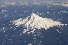Vista aerea della montagna Immagine Stock