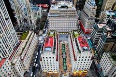 Vista aerea della st Patrick Church Immagini Stock