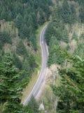Vista aerea della strada principale Fotografie Stock