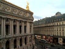 Vista aerea della via di Parigi video d archivio