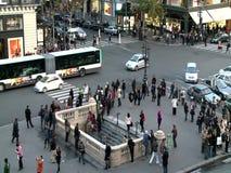 Vista aerea della via di Parigi archivi video