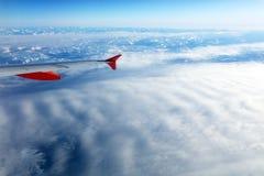 Vista aerea delle alpi svizzere dall'aereo Immagini Stock Libere da Diritti
