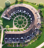Vista aerea delle Camere di lusso Immagini Stock