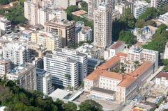 Vista aerea delle costruzioni in Rio de Janeiro Fotografia Stock Libera da Diritti