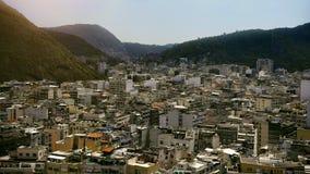 Vista aerea delle costruzioni urbane Fotografia Stock Libera da Diritti