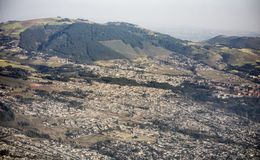 Vista aerea di Addis Ababa, Etiopia Fotografia Stock Libera da Diritti