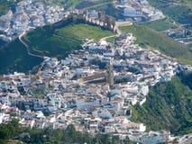 Vista aerea di Alora Immagine Stock