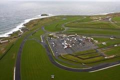 Vista aerea di Anglesey Fotografia Stock