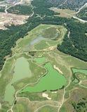 Vista aerea di Austin, il Texas Fotografia Stock